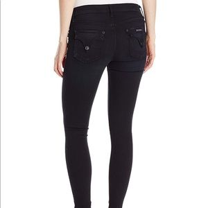 Hudson Mid Rise Lydia Skinny Influencer Flap Jeans